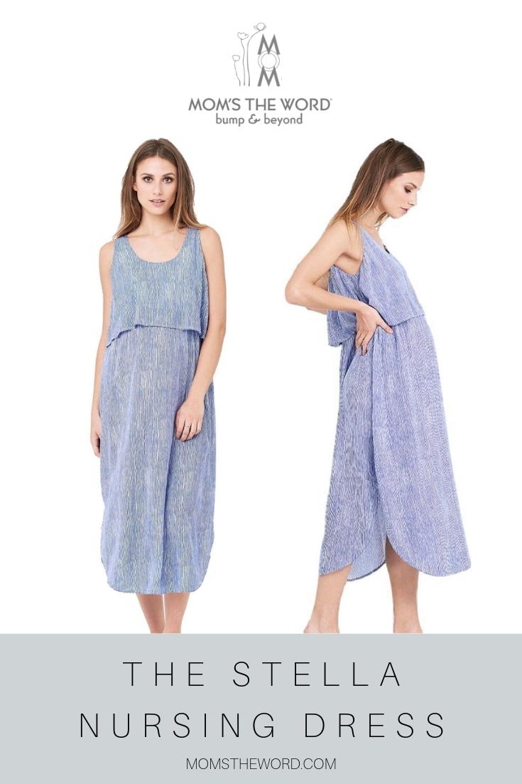 Stella Nursing Dress Nursing Dress Maternity Clothes Online Dresses