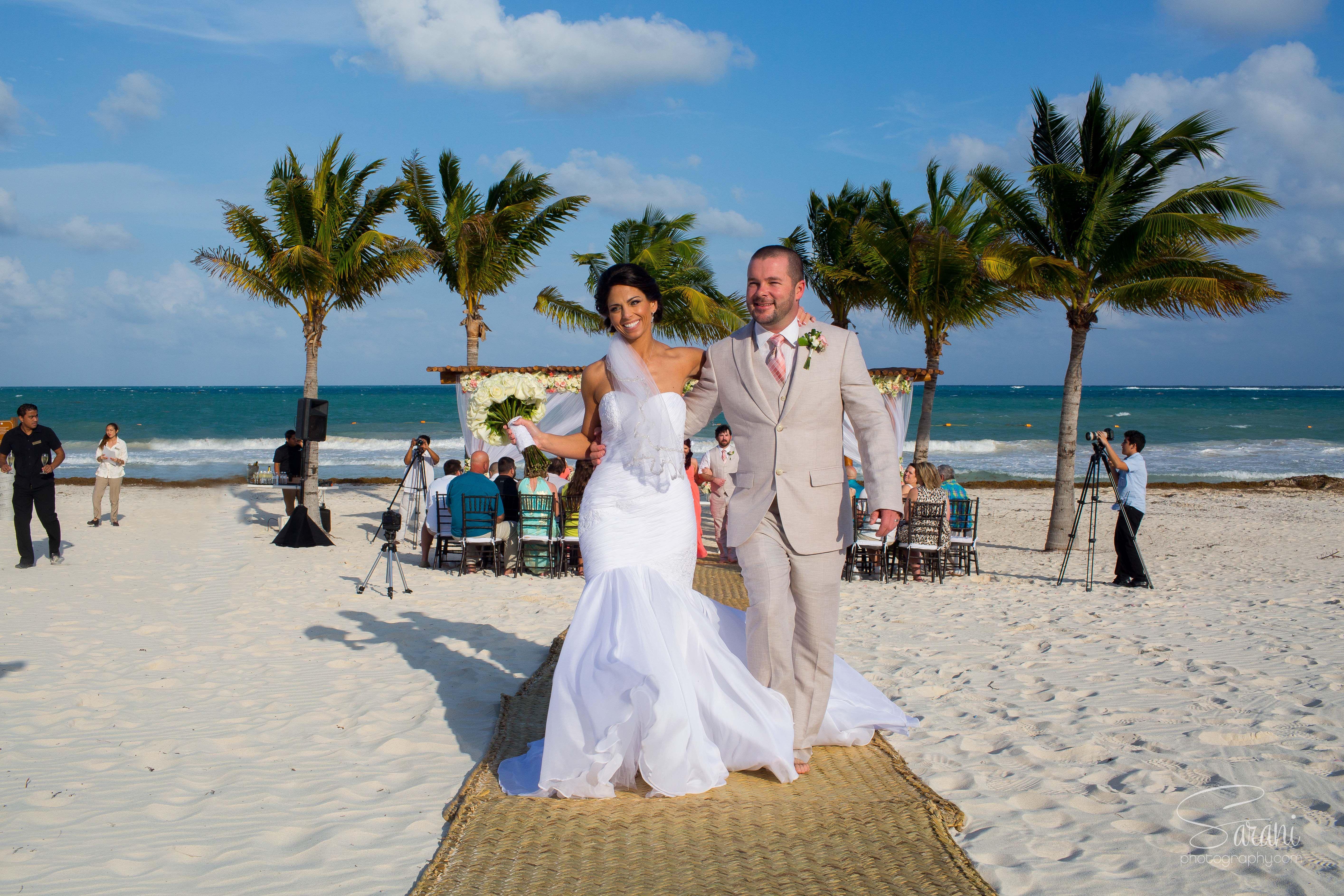 Secrets Maroma Beach Destination Wedding