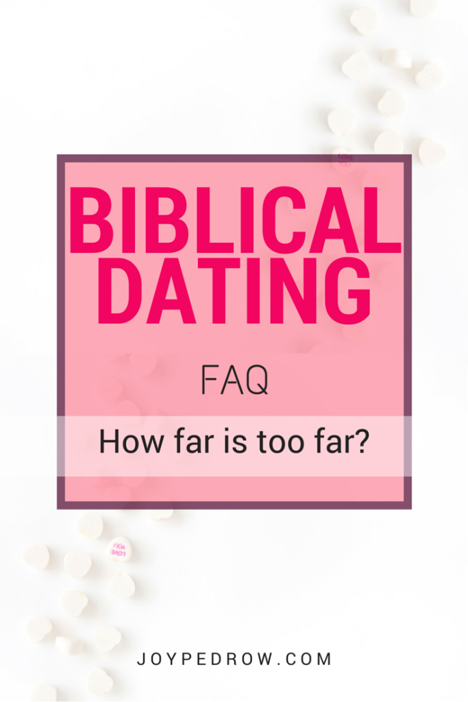 Christian dating biblical
