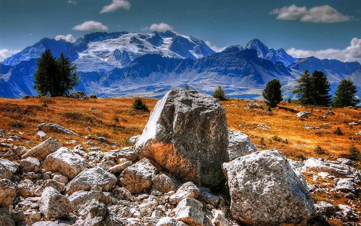 Scarica Sfondi Marmolada Montagna Dolomiti Paesaggio Di Montagna