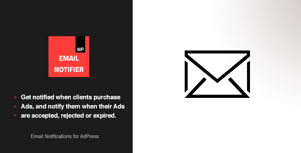 nice Download Email Notifications - AdPress Addon