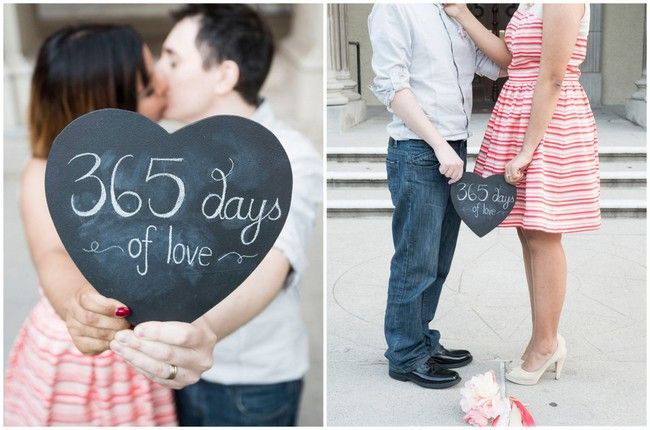 First Wedding Anniversary Gifts For Couple: Cute First Wedding Anniversary Photo Ideas {Peterson