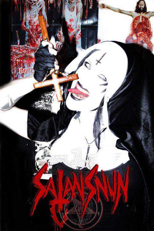 Nuns anal ass blasphemy satanic