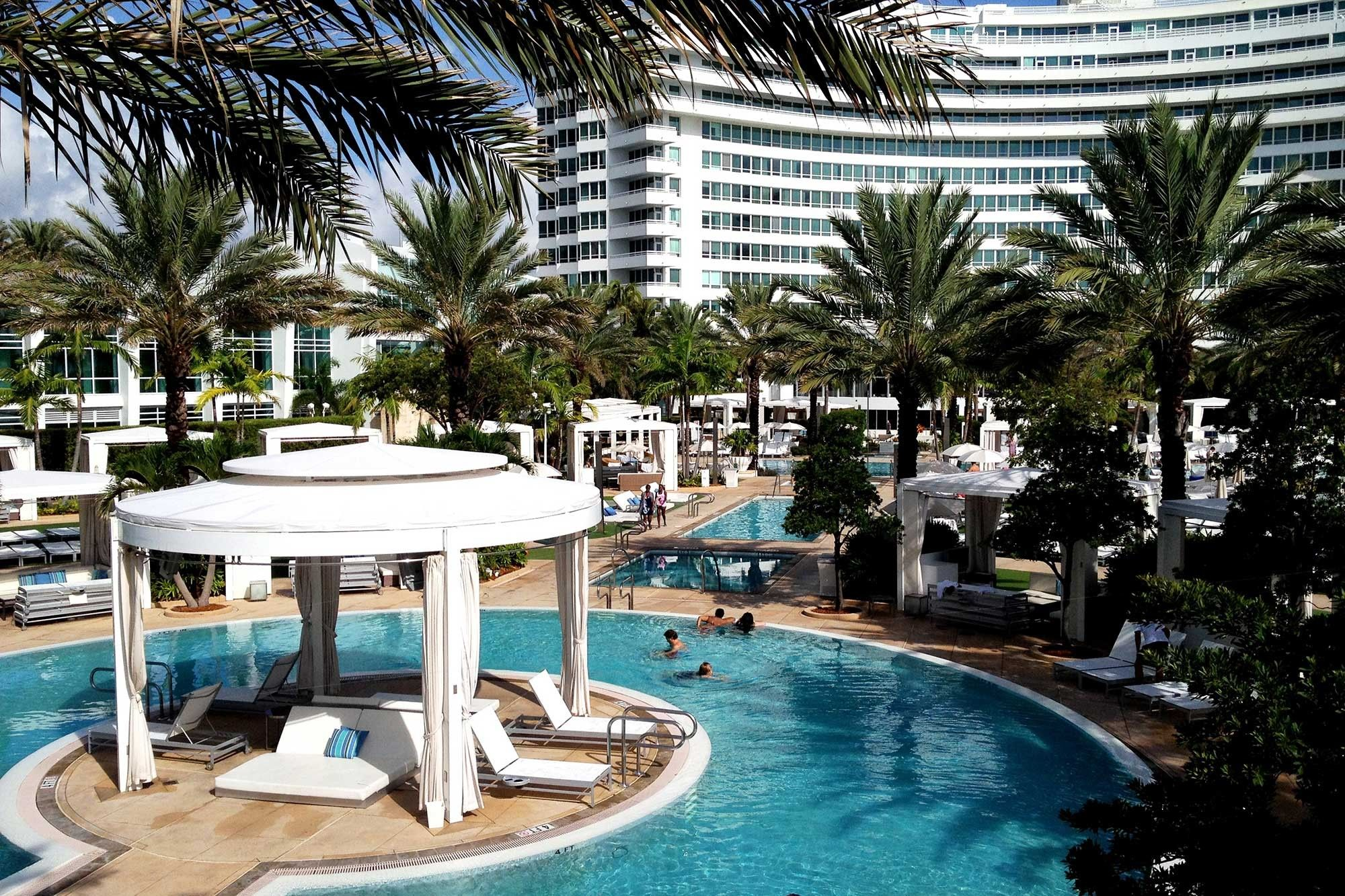 Miami Beach Luxury Hotels Resorts Fontainebleau South