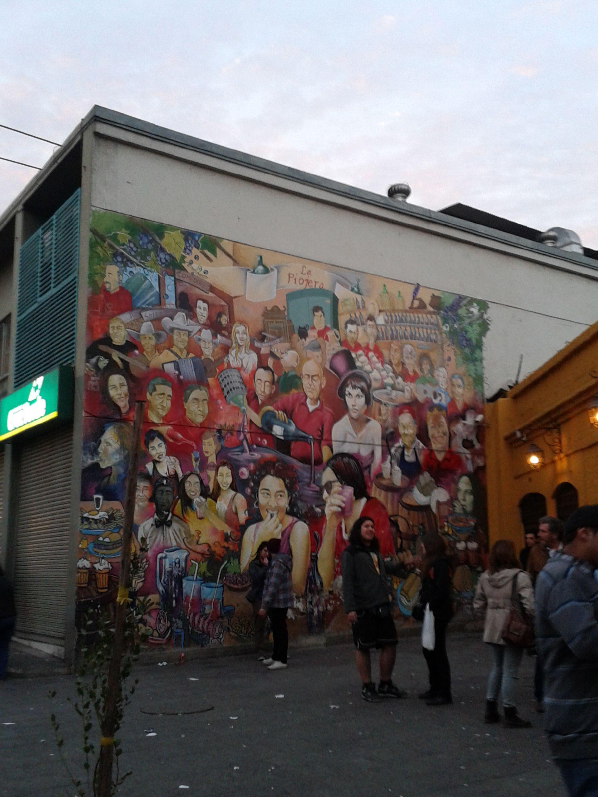 Mural De La Piojera Santiago Centro Santiago Querido Art