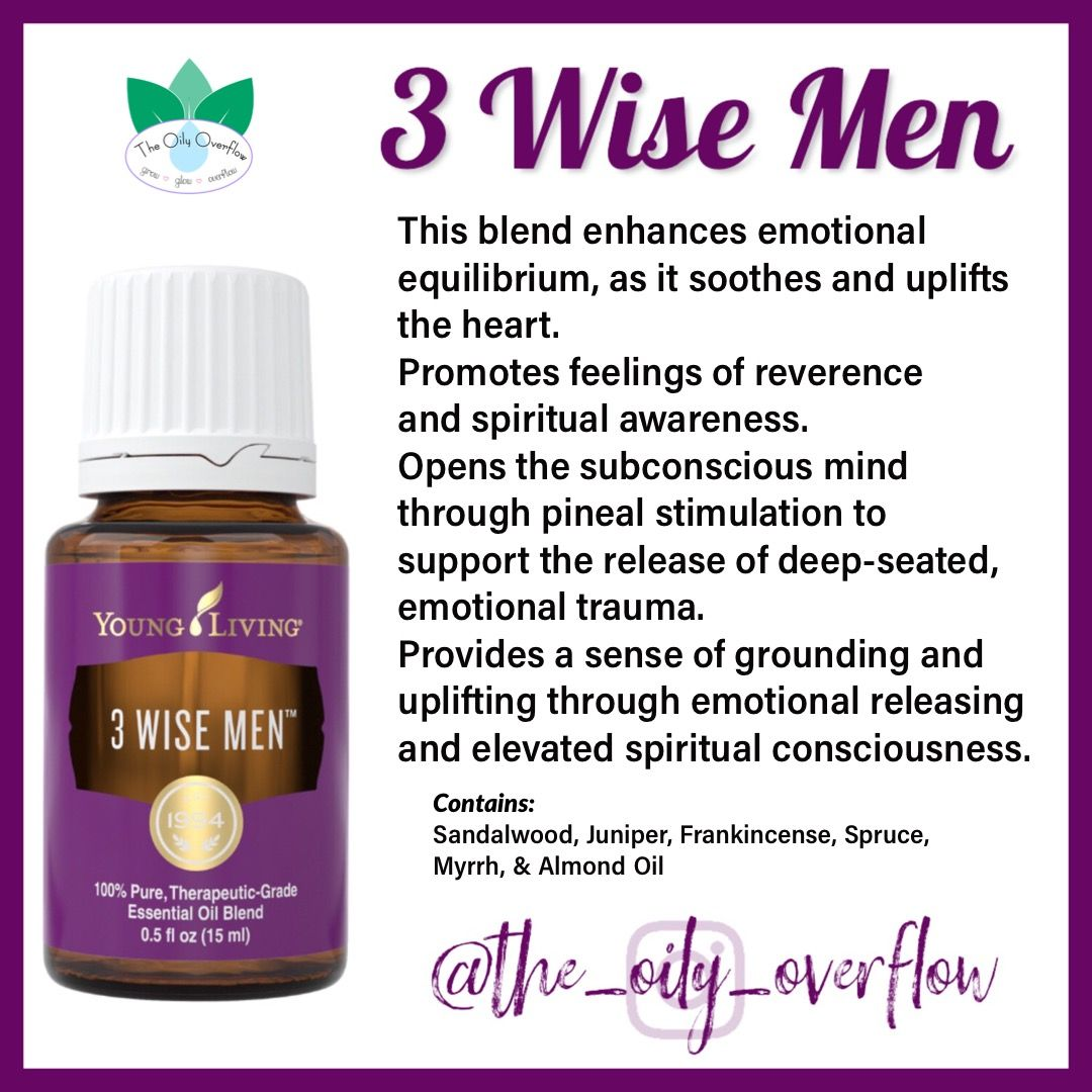OIL OF THE DAY ::—//—:: 3 WISE MEN ::—//—:: The 3 Wise Men
