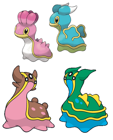 Shellos - Gastrodon #422 - #423 East and West Sea ...