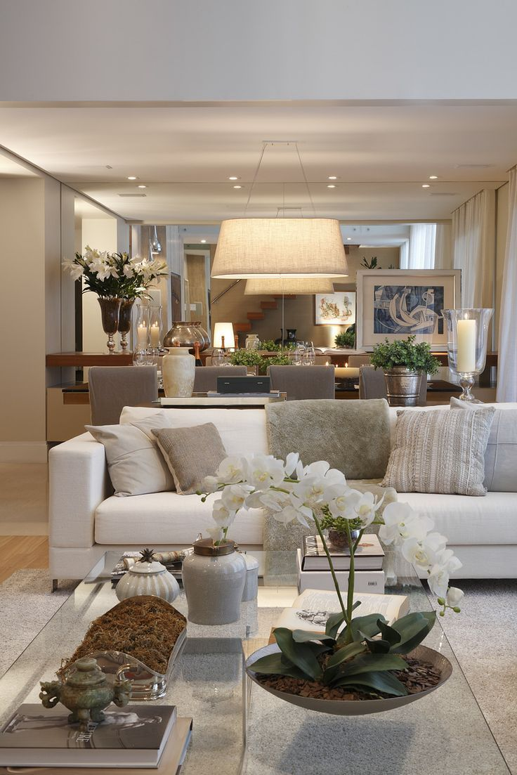 Classic contemporary living rooms - Classic Neutral Living Room