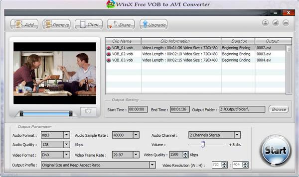 Nidesoft DVD to DIVX Converter 5.3.56 Free Software ...