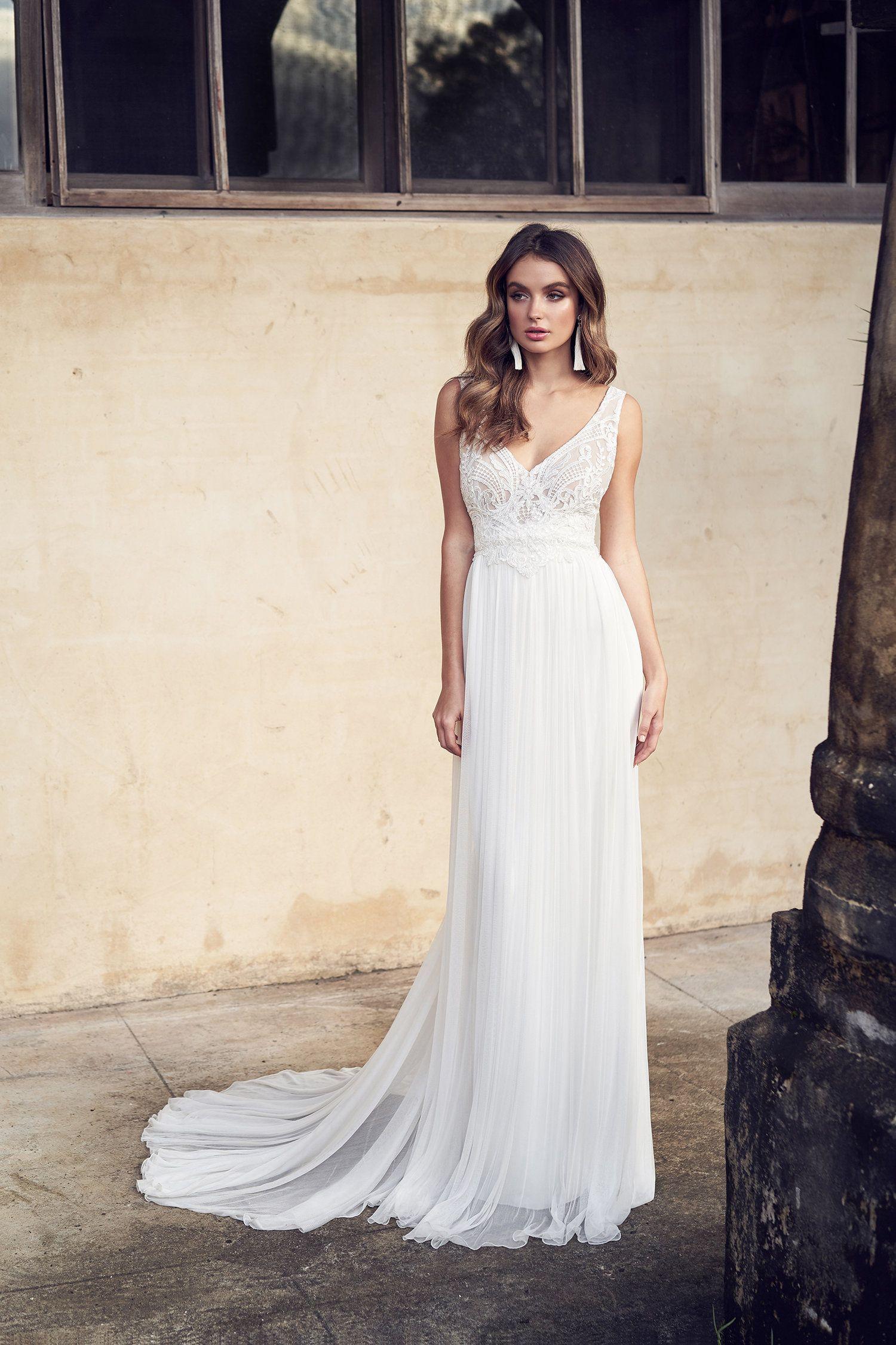 Anna Campbell Bridal Jamie Dress Wanderlust Collection