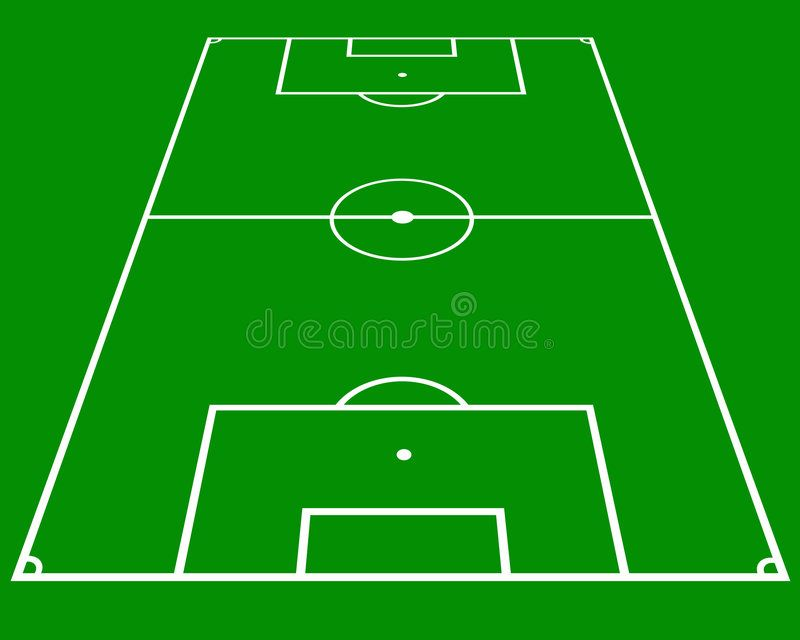 Soccer Pitch Layout In Perspective Affiliate Pitch Soccer Perspective Layout Ad In 2020 Pitch Soccer Football Stadiums