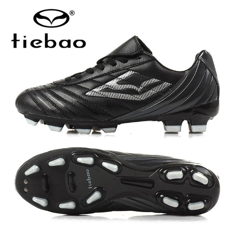 f4b325354a82 TIEBAO Professional Mens Soccer Shoes FG & HG Soles Football Shoes Outdoor  Sports Soccer Cleats Botas De Futbol Sneakers