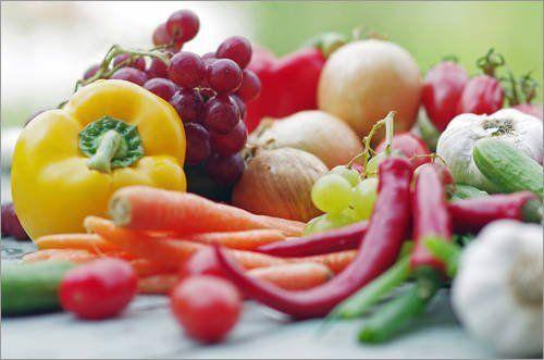 Gemüseküche Leinwandbild 100 X 70 Cm Gemüse Küche Tanja Riedel Fertiges