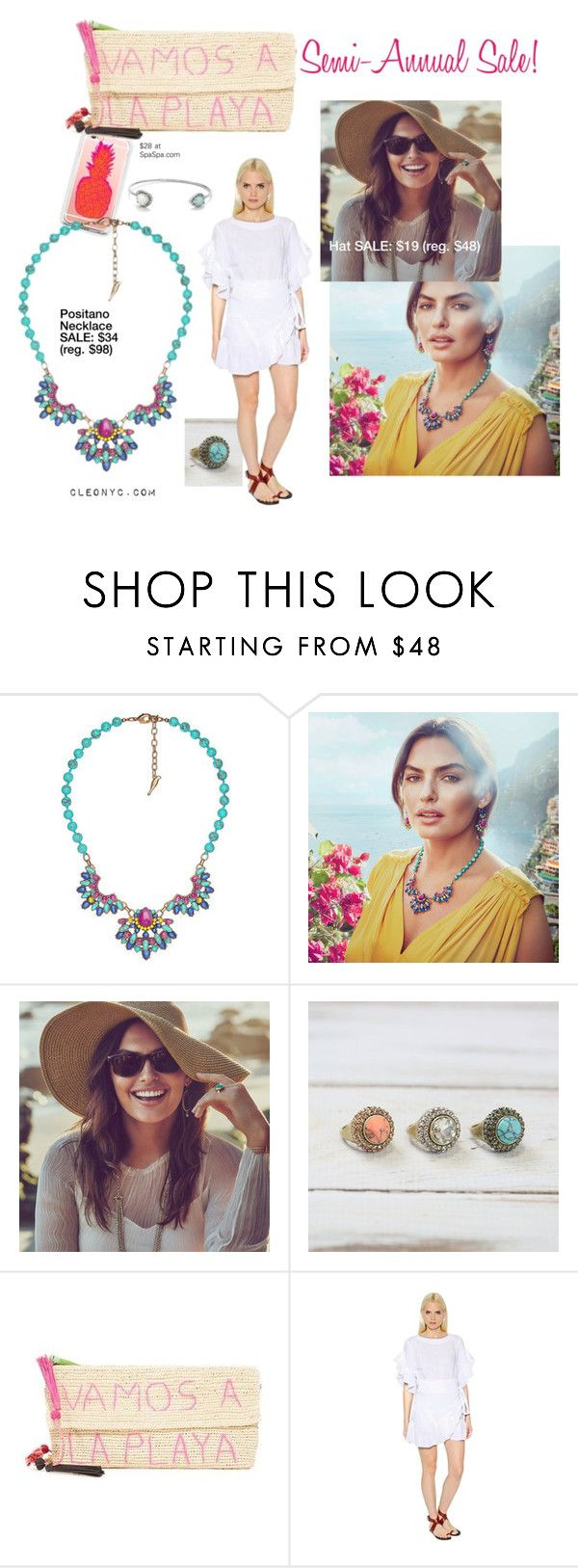 """""""Beach Gateway-Semi-Annual Sale"""" by cleonyc on Polyvore featuring Chloe + Isabel, Sensi Studio and Étoile Isabel Marant"""