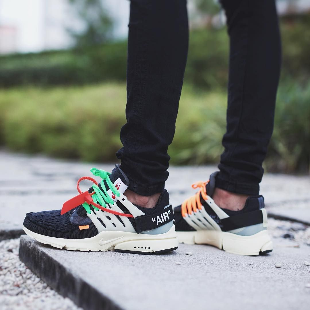 Nike Air Presto Off White Off White Shoes Nike Air Presto Streetwear Shoes