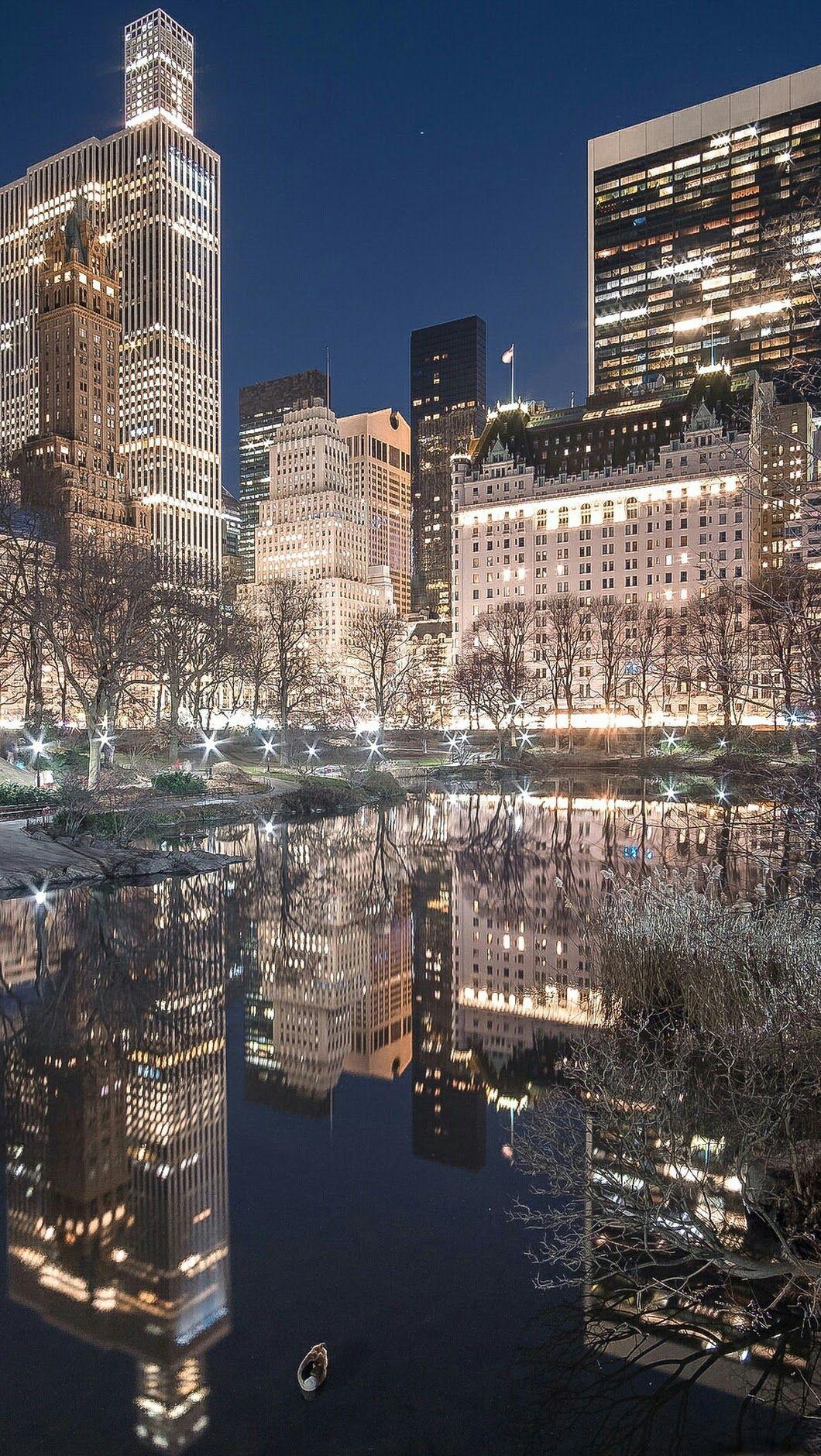 New York City Luzes Da Cidade Nova Iorque E Nova York Cidade