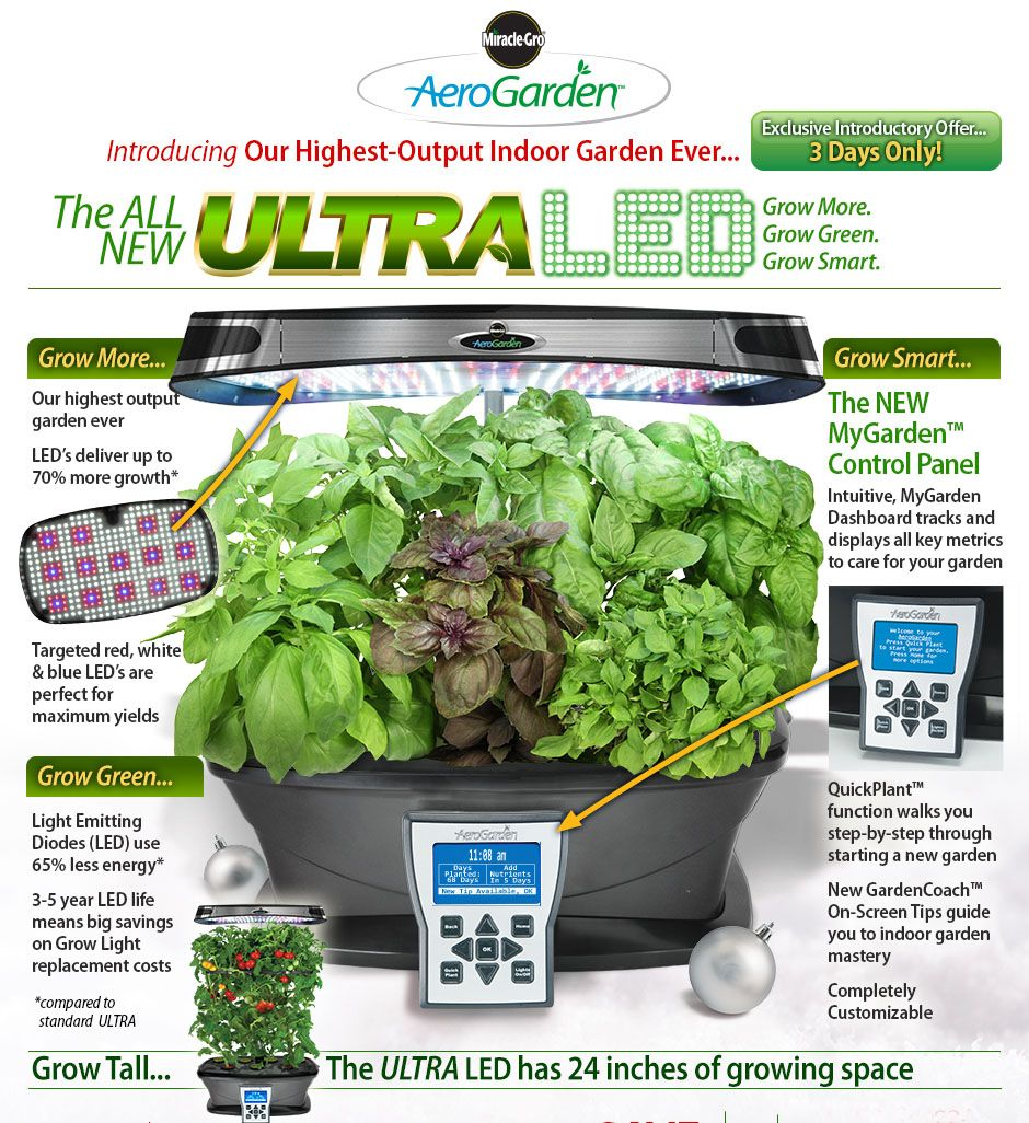 Introducing The New Aerogarden Ultra Led The Future Of 400 x 300