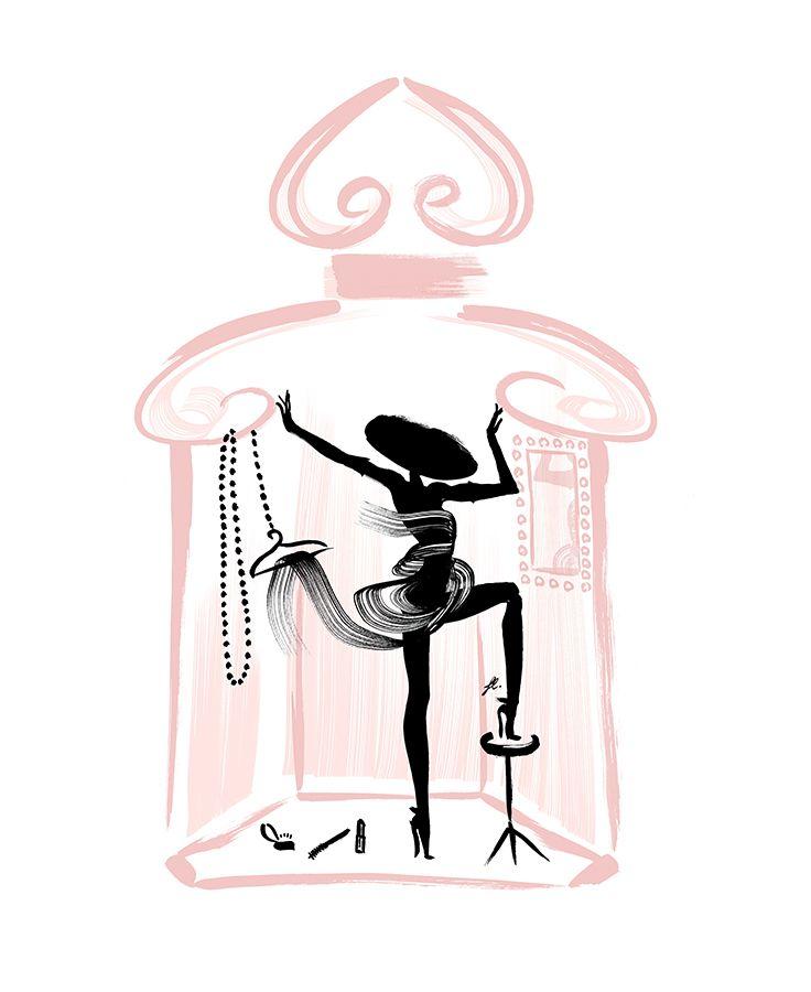 la petite robe noire eau de parfum couture fragrance pinterest perfume illustrations and. Black Bedroom Furniture Sets. Home Design Ideas