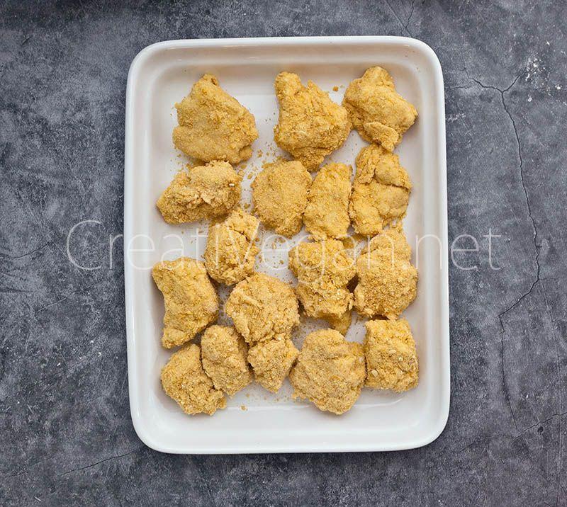 Nuggets De Tofu Creativegan Net Receta Tofu Tofu Duro Tofu Fresco