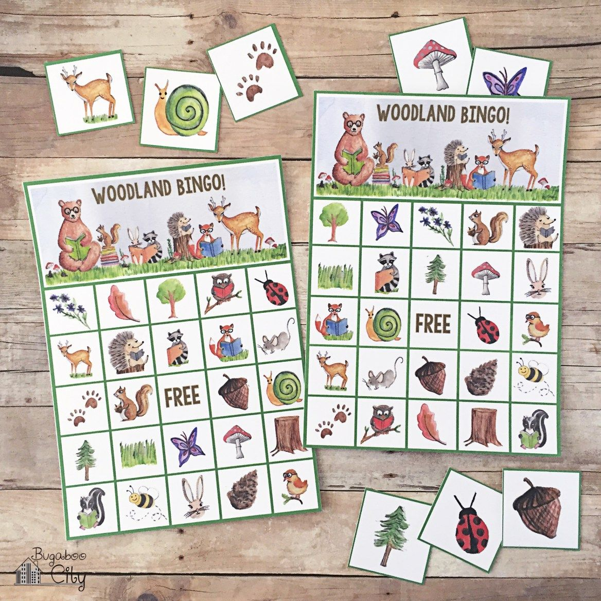 Woodland Bingo