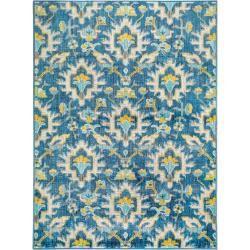Photo of benuta Kurzflor Teppich Avola Blau 80×140 cm – Moderner Teppich für Wohnzimmer benuta