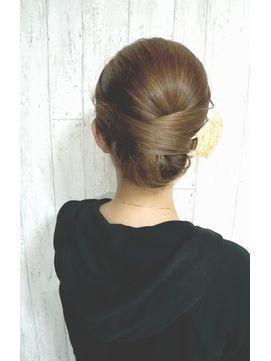 髪型 着物