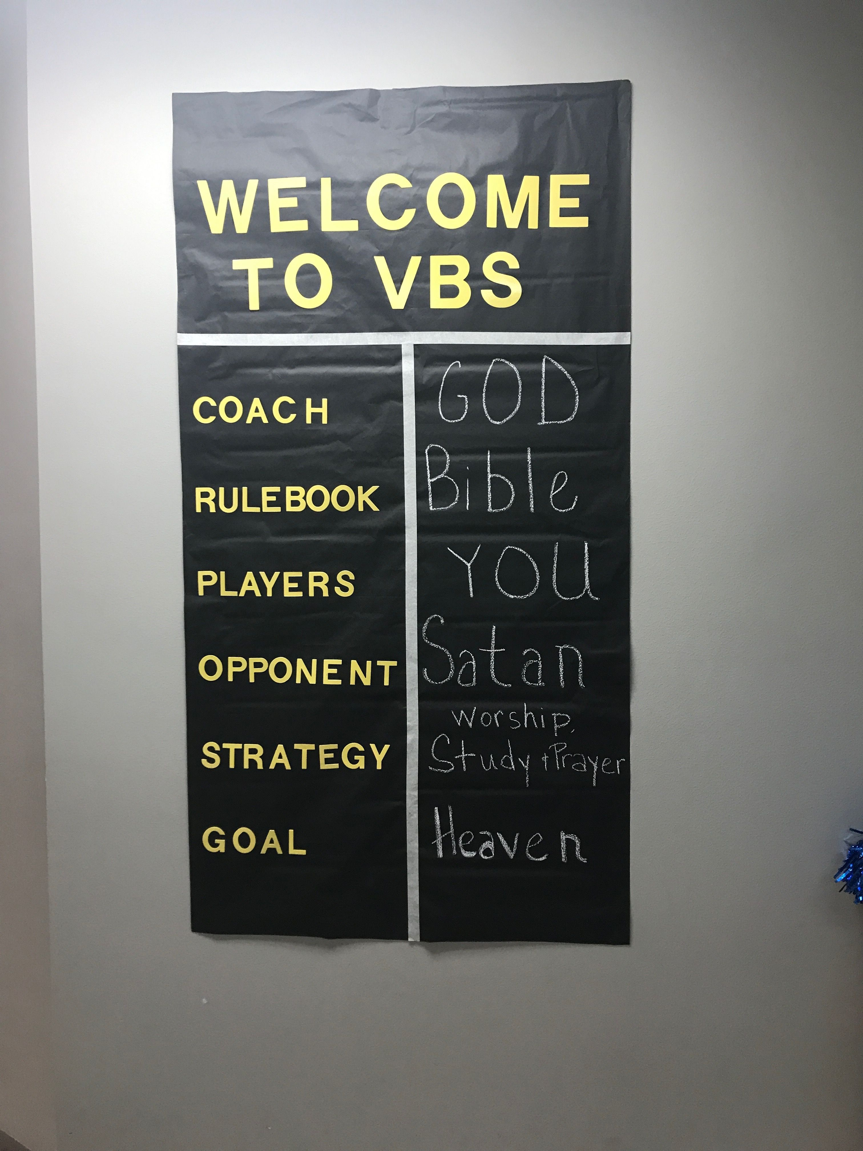 Sports Craft Ideas For Kids Game On Vbs