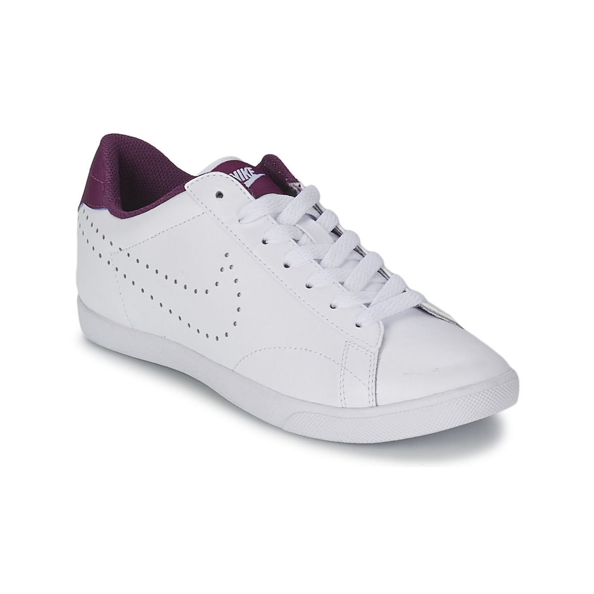 cheap for discount e28a0 480fa Baskets basses Nike RACQUETTE Blanc prix promo Baskets Femme Spartoo 79.99  € Basket Nike, Spartoo