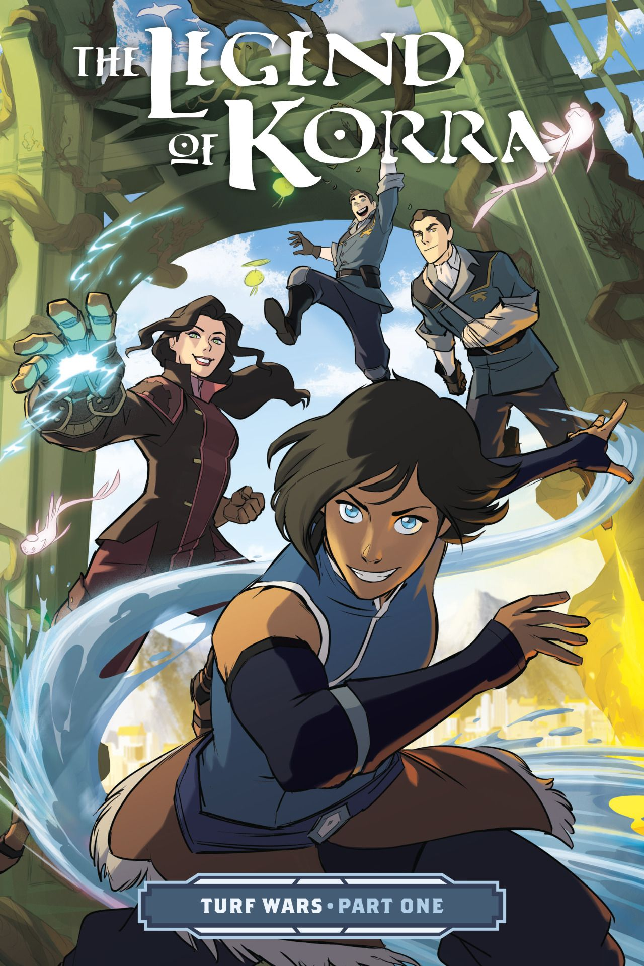 The Legend Of Korra Book 4 Jinora Meelo Ikki Ikki Turned