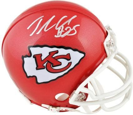watch c39ed 99cc4 Jamaal Charles Kansas City Chiefs Autographed Riddell Mini ...