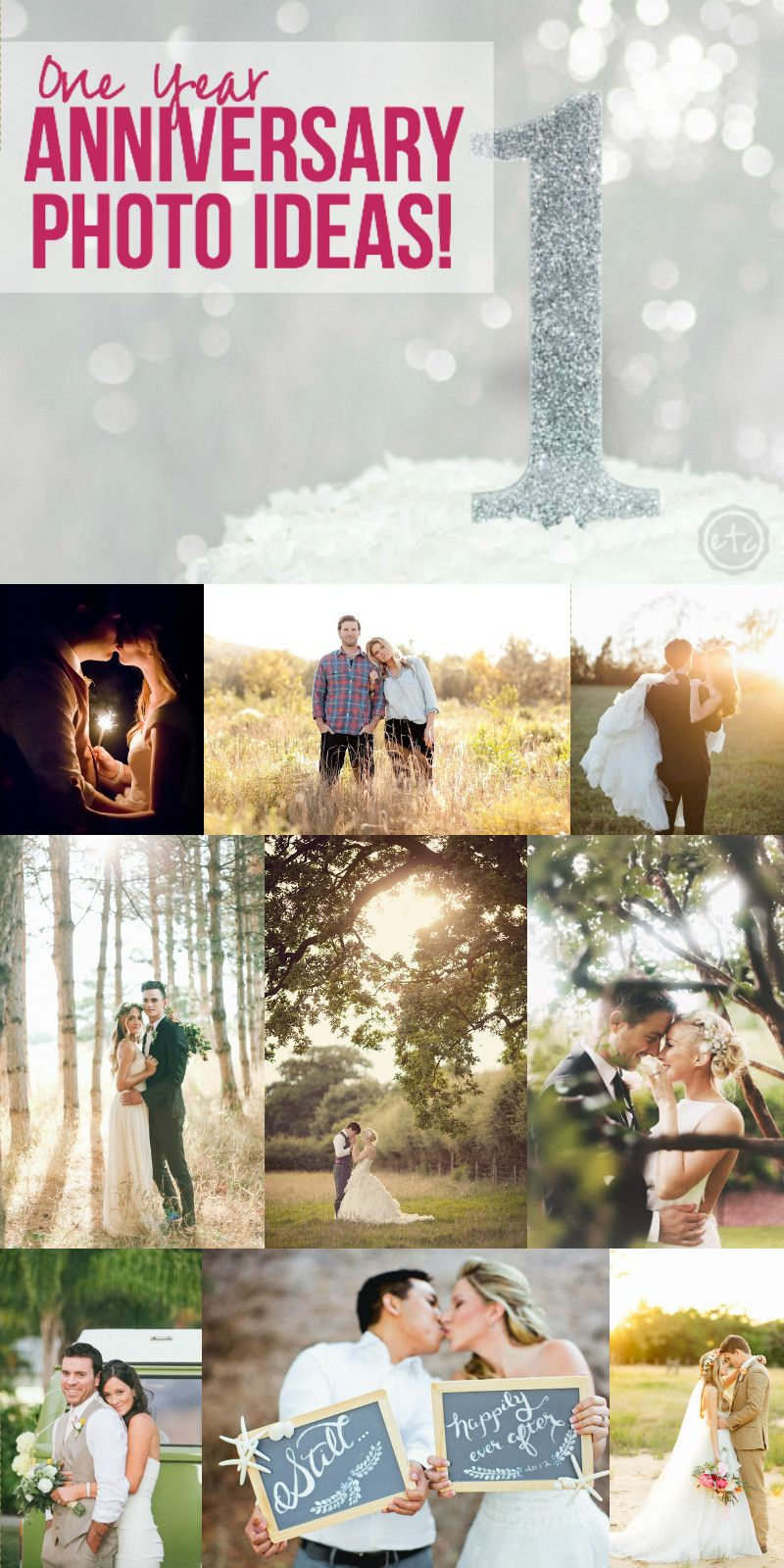 One year anniversary photo ideas 1 year anniversary photo ideas with happily ever after etc negle Image collections