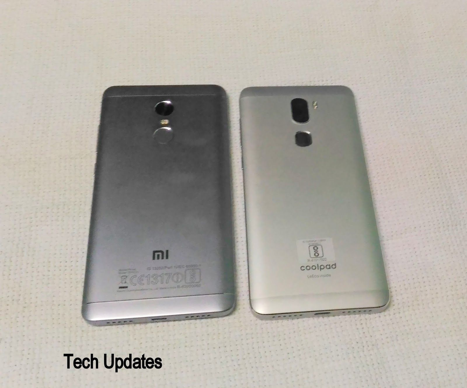 Xiaomi Redmi Note 4 vs Coolpad Cool 1 | TechUpdate3 | Phone cases