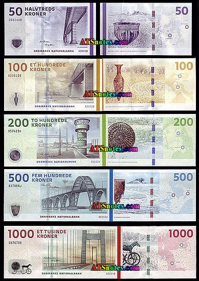Denmark Banknotes Denmark Paper Money Catalog And Danish Currency History Bank Notes Currency Design Money Design