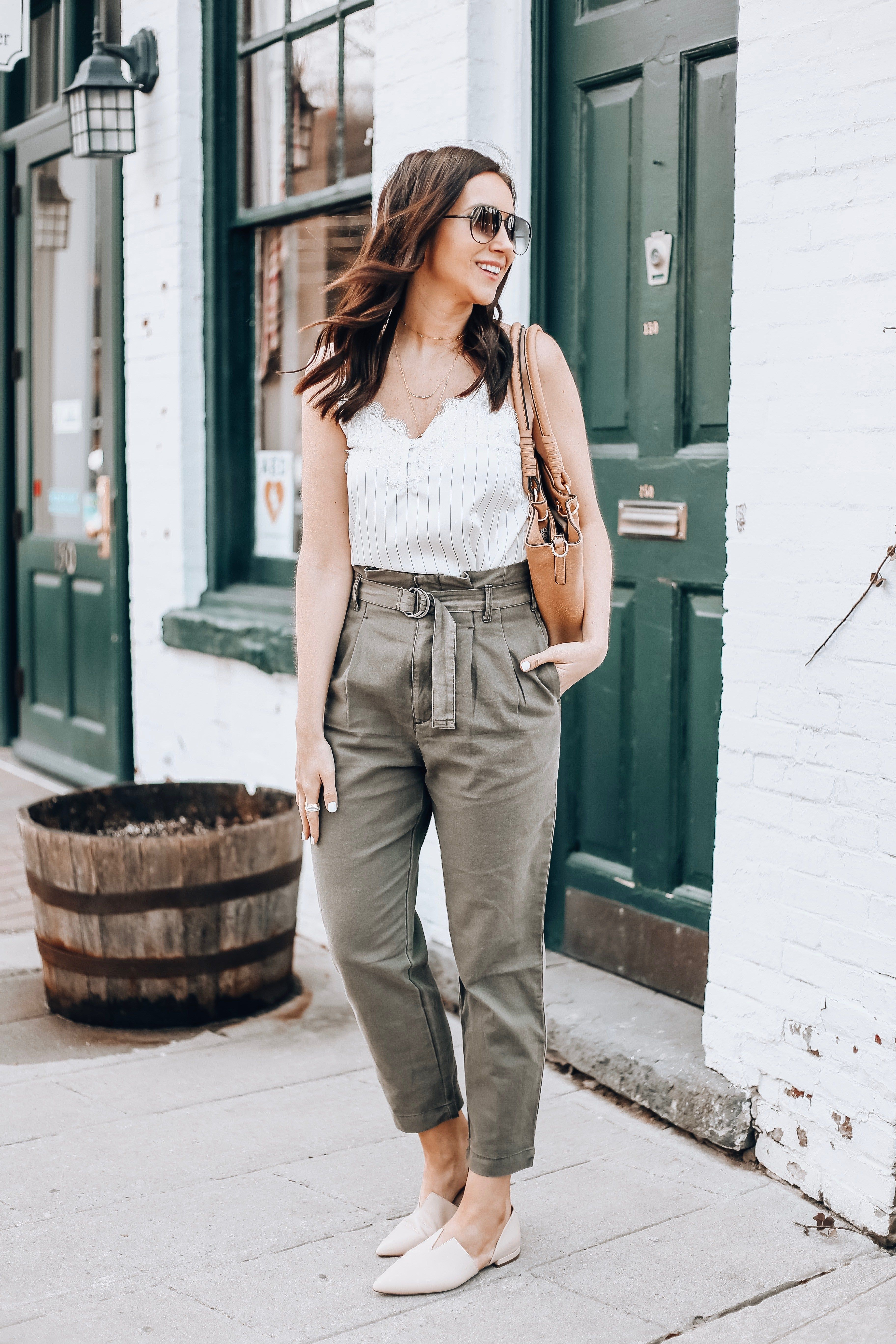 Spring Outfit Ideas With Abercrombie - Blushing Rose Style Blog