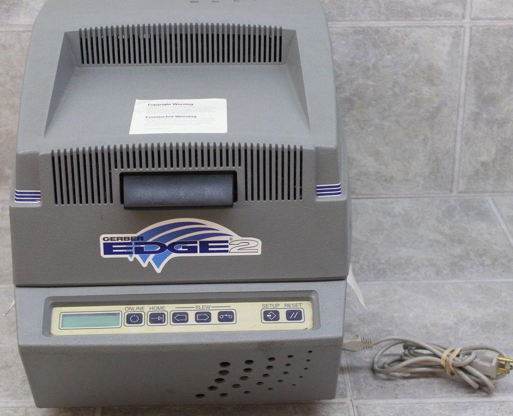 Gerber Edge 2 Printer As Is For Parts Or Repair Only Repair Printer Ebay