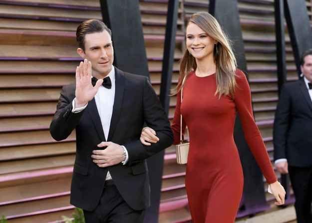 Adam Levine and Behati Prinsloo Got Married (and Jonah