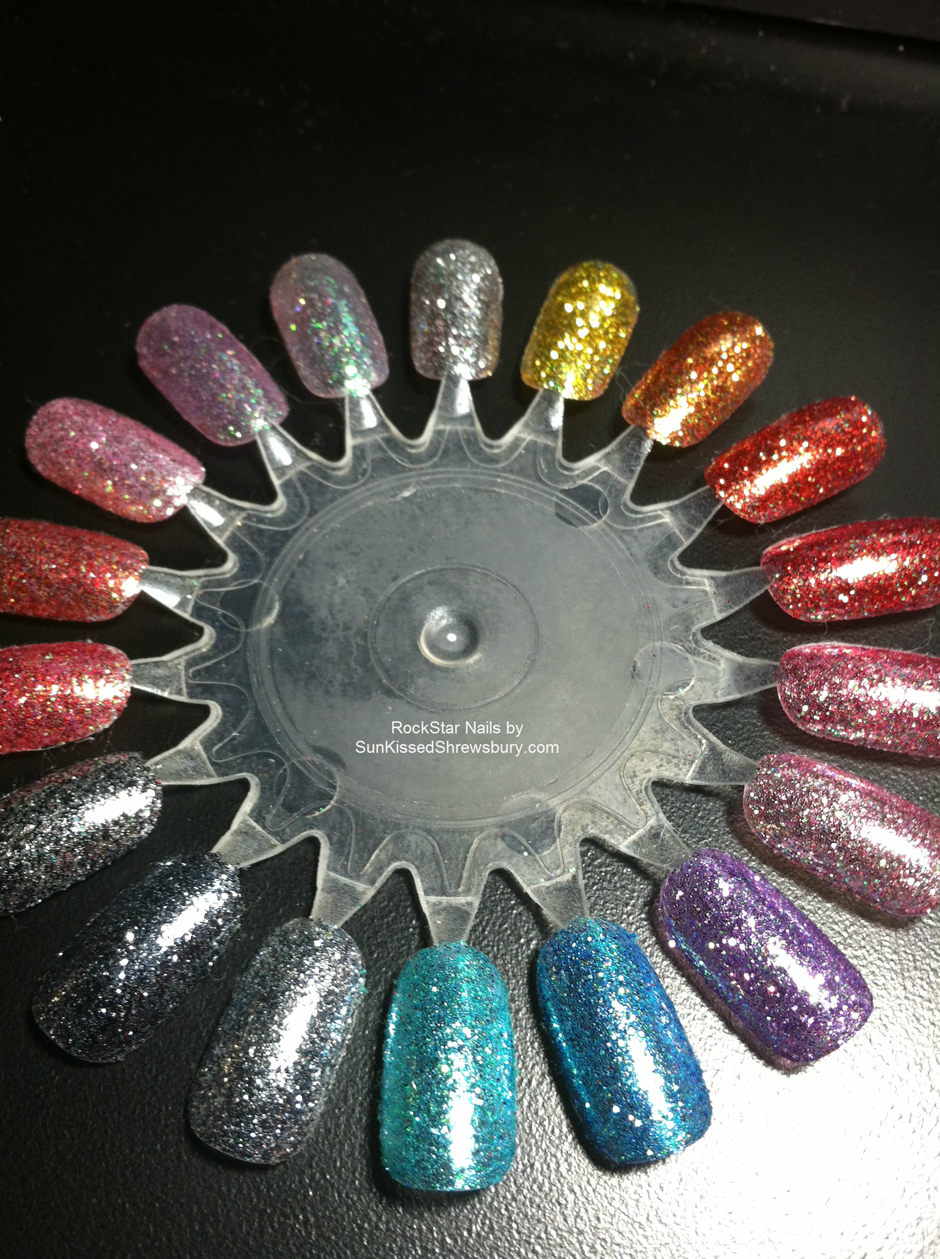 Soak Off Gel- Glitter Rockstar Nail Color Options #nails #nailpolish ...