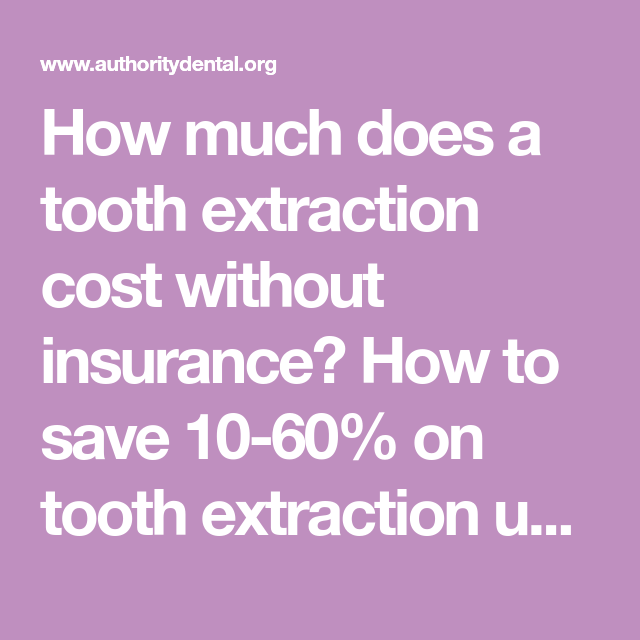 How Much Does A Tooth Extraction Cost Without Insurance How To Save 10 60 On Tooth Extracti Tooth Extraction Dental Discount Plans Tooth Extraction Aftercare