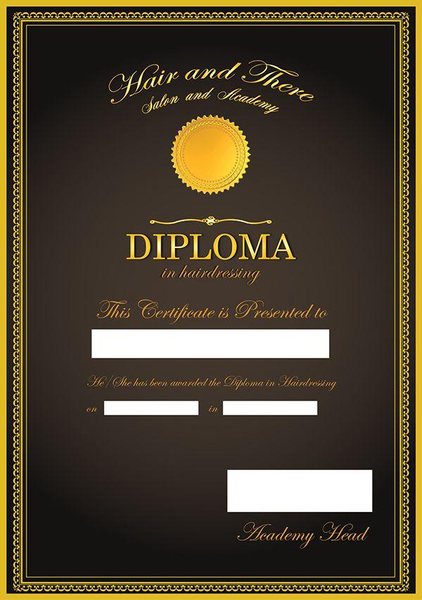 Pin On Certificate Design