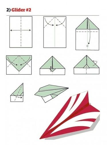 Come fare aeroplani di carta  le istruzioni per undici modelli diversi 31aa1347b4a0