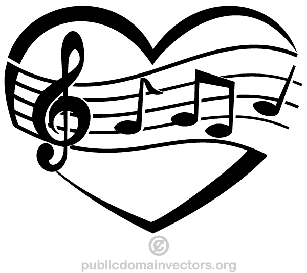 Musical Notes Vector Graphic | Download Free Vector Graphics ...