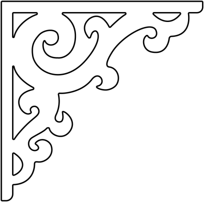Decorative Brackets For Your Porch Or