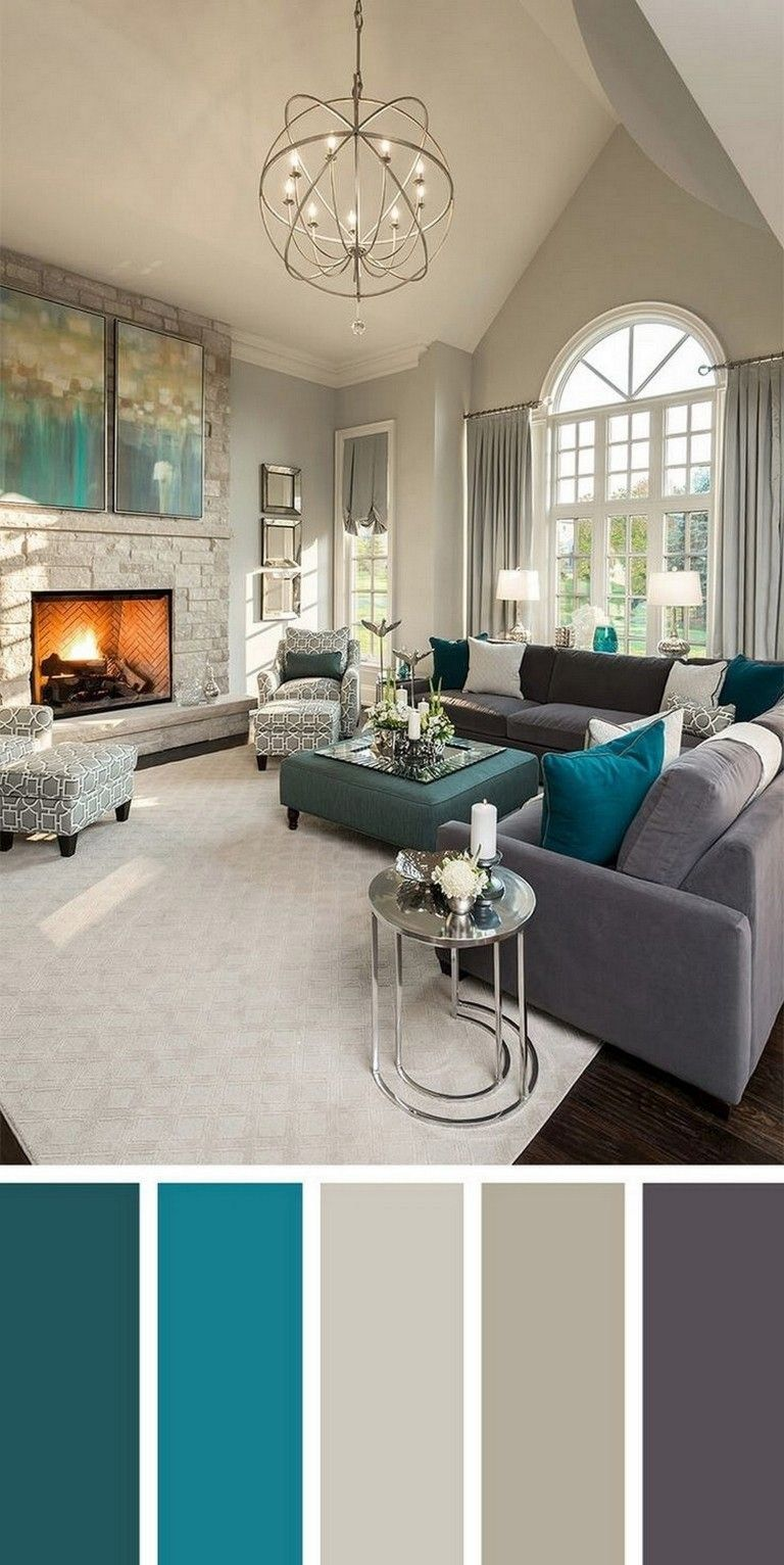49 Extraordinary Wall Design Living Room Ideas In 2020 Beautiful Living Rooms Decor Living Room Color Schemes Beautiful Living Rooms
