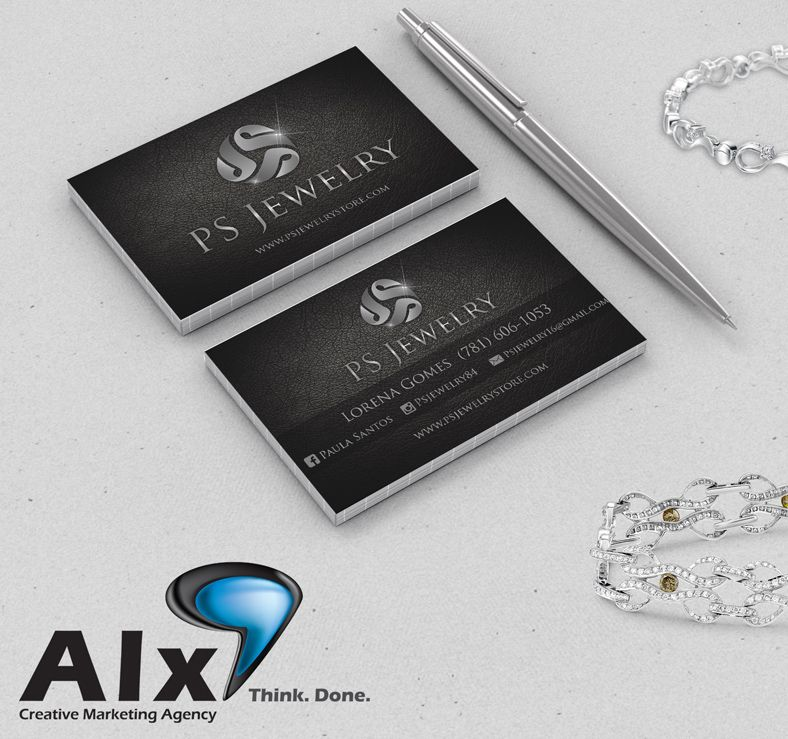 PS Jewelry – Business Cards | Business Cards | Pinterest | Business ...