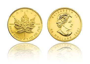 The Canadian Gold Maple Leaf Is The Best Cold Coin In The World It Is 1 Troy Ounce Of Pure 9999 Gold With Gold Running At Around 1600 Oz This Is The Worldw