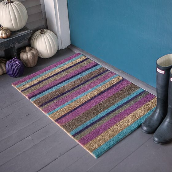 Customize A Door Mat For Your Fall Porch Lia Griffith Door Mat Personalized Door Mats Fall Porch