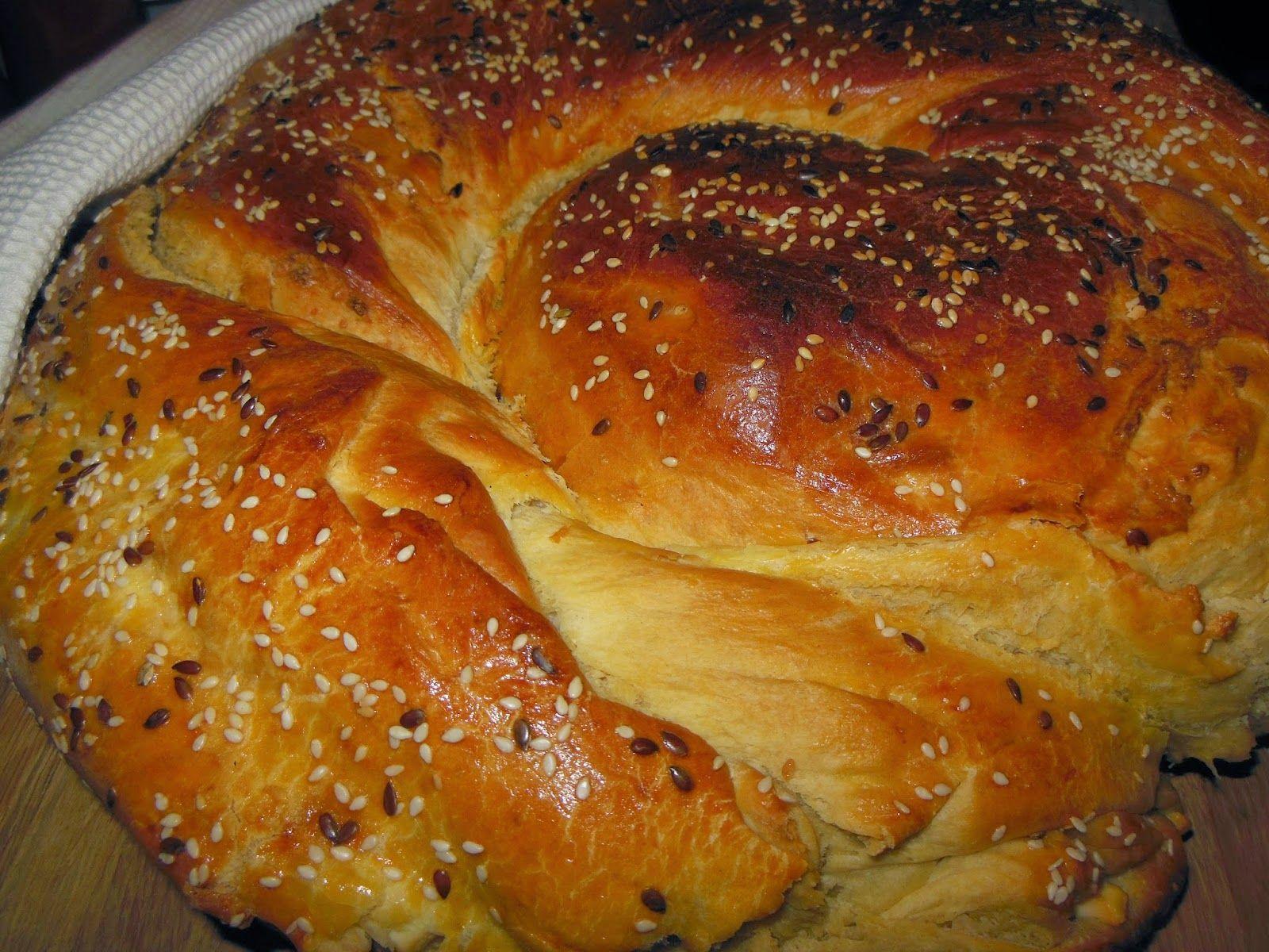 Щъркелово гнездо: Болярска пита със сирене