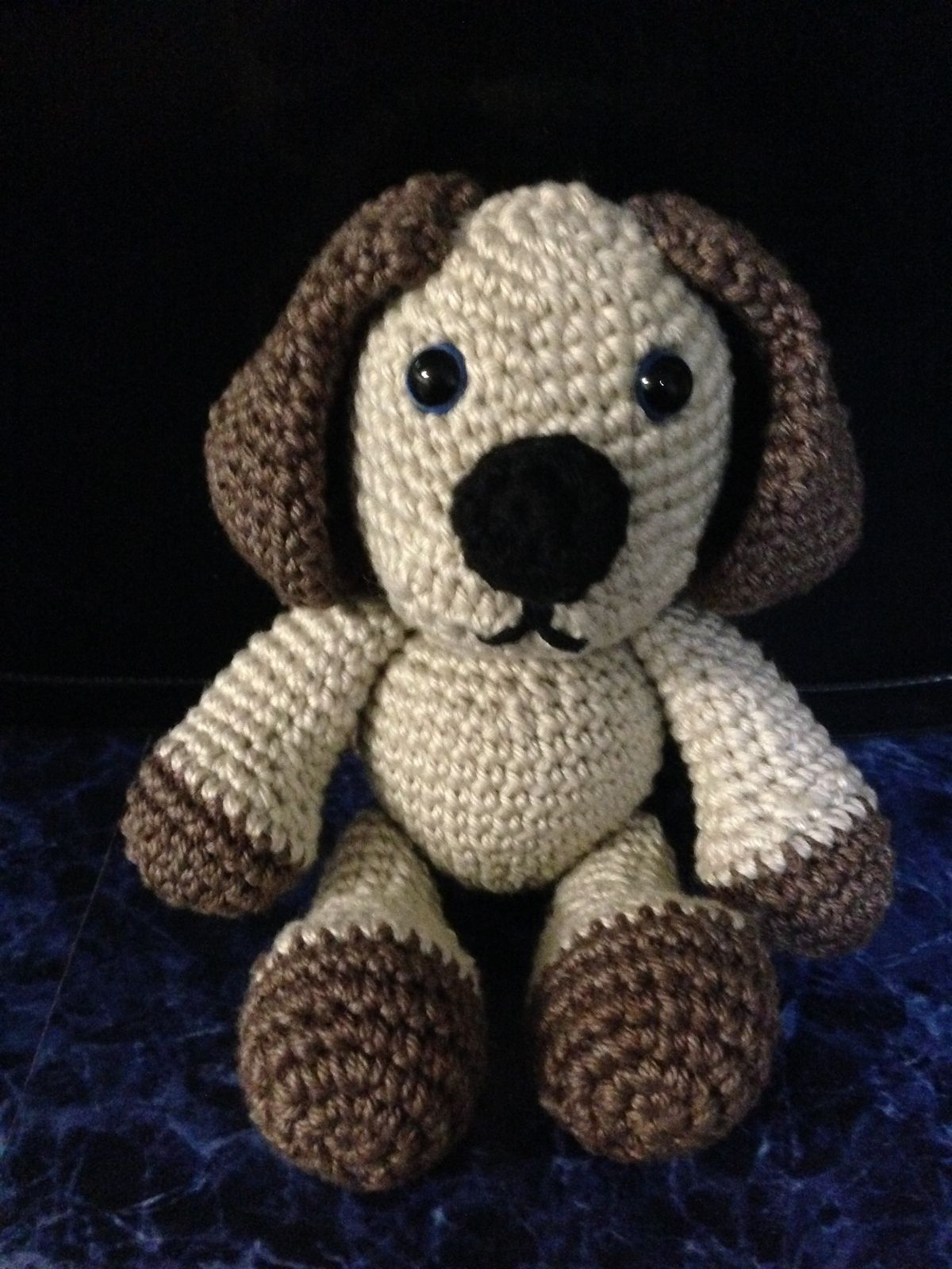 Puppy Emmett Amigurumi pattern by KTZ crochet compositions