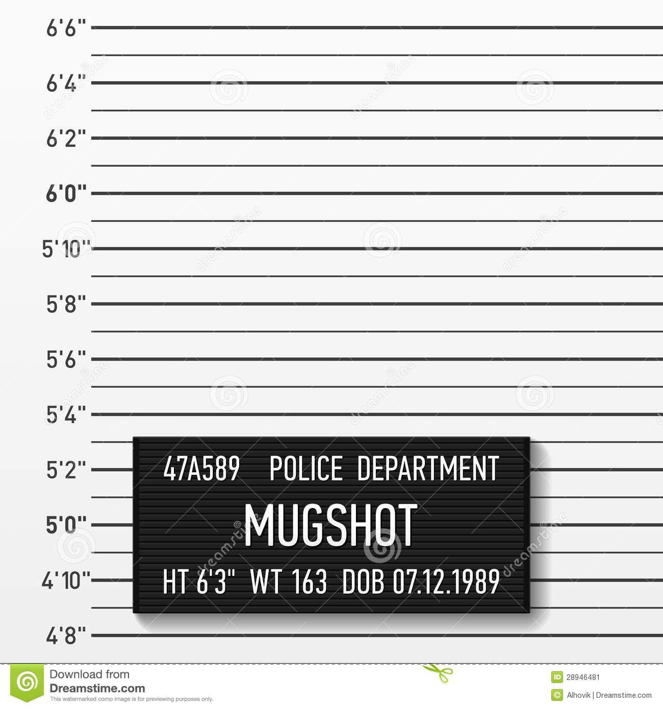 police mugshot stock image pup backdrops villains