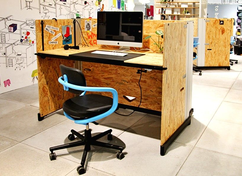 creative office environments. konstantin grcic\u0027s osb hack table for vitra created office environments creative t